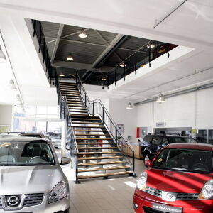 architect garage showroom bedrijfspand Wateringen Brand I BBA Architecten