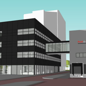 architect Food Innovation Academy Vlaardingen Brand I BBA Architecten