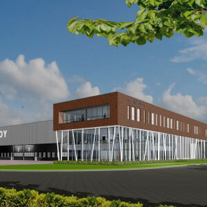 architect bedrijfspand kantoor warehouse Gorinchem Brand I BBA Architecten